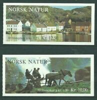 Norway - Mail 1979 Yvert 751/2 Id MNH Landscapes