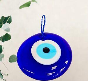 16cm Nazar Boncuk Glasperlen Anhänger Deko Amulett Türkisches blaues Auge