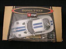Bburago Dodge Viper GTS Coupe 1997 1/18 Diecast Car Gold Collection