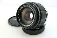 Olympus 28mm F2 Zuiko Auto W OM Fit Camera Lens for OM Series Cameras.