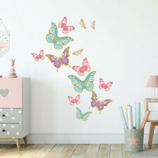 Butterfly wall stickers, wall decals collection, glitter butterfly bfly.1