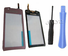 Samsung S5620 Monte Touch Screen Digitizer Tools + Adhesive Sticky Tape Pink UK