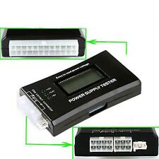 PC Computer LCD 20/24 Pin 4 PSU ATX BTX  SATA HDD Digital Power Supply Tester FT