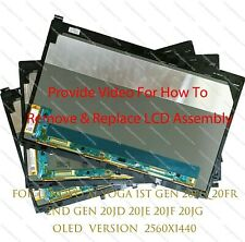 """New listing New 14"""" Wqhd Oled Touch Screen Assembly For Lenovo X1 Yoga 1St 2Nd Gen"""