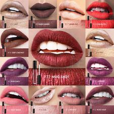 Womens Holographic Lip Gloss Metallic Diamond Lasting Lipstick Shine Halo Glam