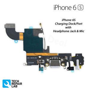 NEW iPhone 6S Lightning Connector Charging Port + Headphone Jack + Mic Repair