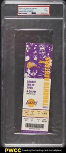 2006 Los Angeles Lakers Full Ticket Kobe Bryant Scores 81 Points PSA 2 GD