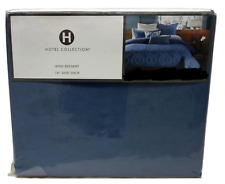 HOTEL COLLECTION HEXAGON KING BEDSKIRT MSRP $150 NEW IN PACKAGE