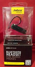 Jabra BT2046 Black bluetooth Headset  earhook  2 eargels usb cable 1009204600017