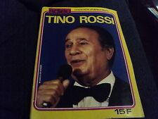 """REVUE """"COLLECTION PORTRAIT PRIVE : ADIEU TINO ROSSI"""""""