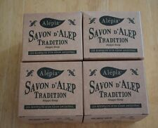 4X 190g Traditional Aleppo Olive Soap Savon d'Alep / NO Palm Oil / Made in Syria