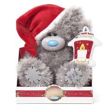 "Me To You - 9"" Christmas Bear with Lantern Tatty Teddy Carol Singer G01W6328"