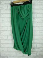 Wayne By Wayne Cooper Stretch Skirt Sz 8 Green