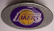 Trailer Hitch Cover NBA Basketball Los Angeles Lakers NEW Diamond Plate Metal