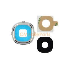 Samsung Galaxy S4 i9500 Rear Camera Frame Holder Lens Cover - Silver
