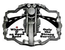 Biker Hebilla de Cinturón Motocicleta 2 Ruedas & Open Road Bike Auténtico Diseños De Dragón
