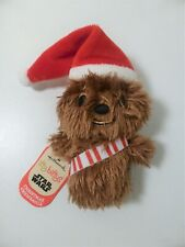 Hallmark - Itty Bittys - Disney Star Wars - Christmas Chewbacca - BNWT