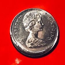 1974 Canada Dime Ten(10) Cents Off-Center Mint Error Flaw Fault Off Struck