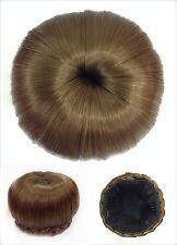 Hair Bun, Perfect Braided, Hair Piece, Medium Ash Brown.