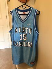 Vince Carter #15 NCAA UNC North Carolina Blue Vintage Nike Jersey Adult Size XL