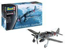 "REVELL Fw190 A-8 ""Sturmbock"" 1:32 Aircraft Model Kit 03874"