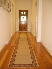 Hallway Runner Hall Runner Rug Modern Beige 4 Metres Long FREE DELIVERY 55809