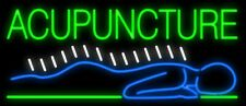 "New Acupuncture Body Beer Man Cave Neon Light Sign 32""x16"""