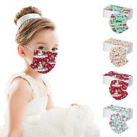 Kinder Weihnachten Face Mask Mundmasken Gesichtsmaske Behelfsmaske lot