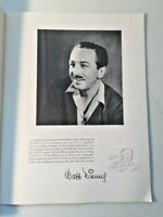 FANTASIA Movie Program 1940 Walt Disney Presents 9.5x12.5 Original 28 pages