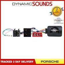 Estéreo Pioneer Controles Del Volante Adaptador para Porsche Cayenne 2002>