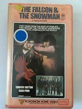 VINTAGE RETRO MOVIE FILM VHS VIDEO TAPE PLASTIC CASE-THE FALCON AND THE SNOWMAN
