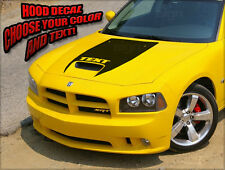 2006 07 08 09 2010  Dodge Charger SRT8 Super Bee Daytona Hood Decal Graphic ST1