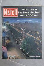 paris match n°123 les champs-elysees ont 2000 ans paris