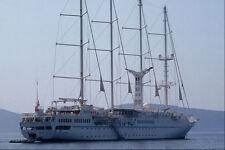 669032 Sailing Vessel Windstar A4 Photo Print