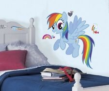 MY LITTLE PONY RAINBOW DASH Giant Wall Decal MLP Ponies Room Decor Stickers NEW