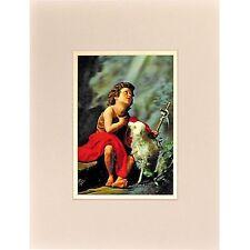 John The Baptist Child Wall Decor Ready Frame 8x10 3D Lenticular #PK-207RF-COMO#