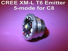 XM-L T6 5-mode emitter module for UltraFire C8 / Manta Ray M6  # 303