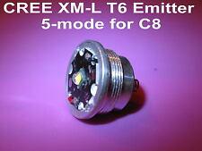 XM-L T6 5-mode emitter module for UltraFire C8 / Manta Ray M6  # 303