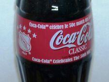 2000 NHL All Star 50 Game Canada Coca-Cola Coke Bottle