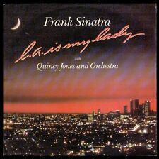 "FRANK SINATRA - SPAIN SG 7"" QWEST 1984 - L.A. IS MY LADY - QUINCY JONES - SINGLE"