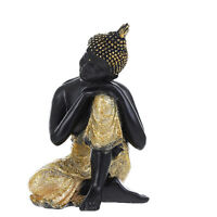 Ceramic Handmade Religion Buddhism Buddhist Buddha Sitting Statue Decoration