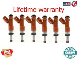 X6 Genuine Denso Fuel Injectors for Lexus ES350 Toyota RAV4 Camry 3.5L 23250-310