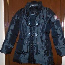 "Coogi Women's Size M Black Puffer Coat ""Love, Passion, Fashion"" Jacket"