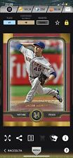 Topps Bunt Iconic MLB Jacob DeGrom New York Mets 10cc Museum 2019 Red Frame