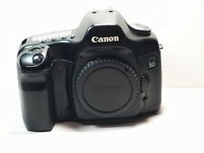 Canon Eos 5d 12,8 Mp Fotocamera Reflex Digitale-Nero Corpo + Battery + Charger