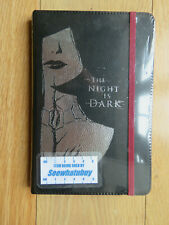 Game Of Thrones The Night Is Dark & Full Of Terrors Note Book Journal - NEW