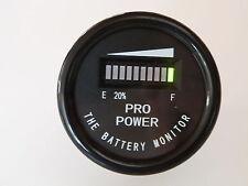 PRO12-48M 36 Volt Golf Battery Indicator -All Lead Acid Batteries, Exide, Trojan