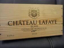 Confezione da 6 autentica Francese in legno vino gabbie BOX FIORIERA ostacolare CASSETTI / Storage