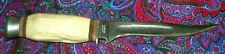 Vintage Fixed Blade Stag Handle Knife Solingen Germany. Very Nice