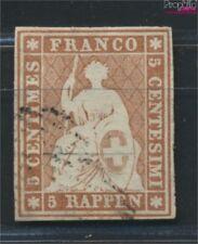 Zwitserland 13I B getest gestempeld 1854 Strubeli (9045724